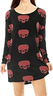 Best skull knit sweater Reviews