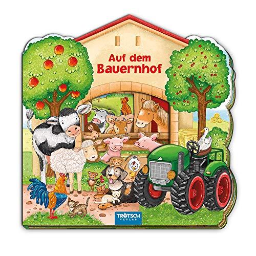 Trötsch Auf dem Bauernhof Pappenbuch: Kinderbuch Entdeckerbuch Beschäftigungsbuch Spielbuch