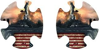 Geyi American Statue of Liberty Wrestling Headgear Decals 1
