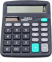 $25 » QWERTG Office Finance Calculator Calculate Commercial Tool Solar/Battery Powered 12 Digit Electronic Calculatory Calculator 147118MM