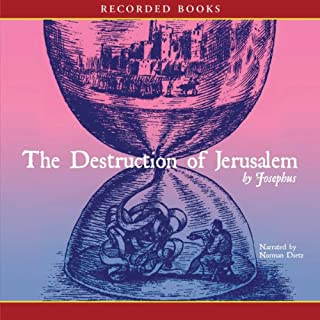 The Destruction of Jerusalem audiobook cover art