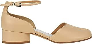 Maison Margiela Luxury Fashion Womens MCGLCAB0000A7011E Beige Heels | Season Outlet