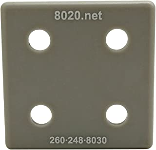 1515//1515-Lite End Cap with Push-Ins Gray 2030GRA 80//20 Inc 25 Pack 15 Series