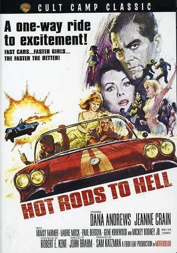 Hot Rods to Hell [Reino Unido] [DVD]