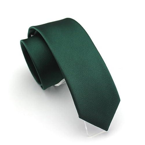 Handmade Plain Emerald Green Satin Skinny Men/'s Tie Wedding Tie Slim Thin Prom