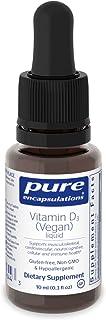 Pure Encapsulations - Vitamin D3 (Vegan) Liquid - Hypoallergenic Support for Bone, Breast, Prostate, Cardiovascular, Colon...