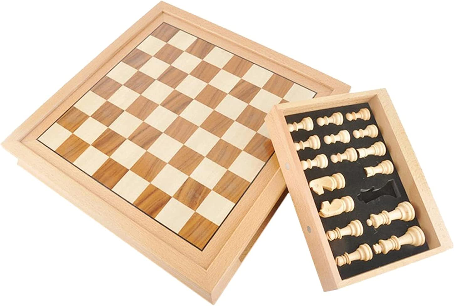 ZZHH Wooden Be super welcome Soldering Chessboard Walnut Solid Board Chess Wood Game Intern