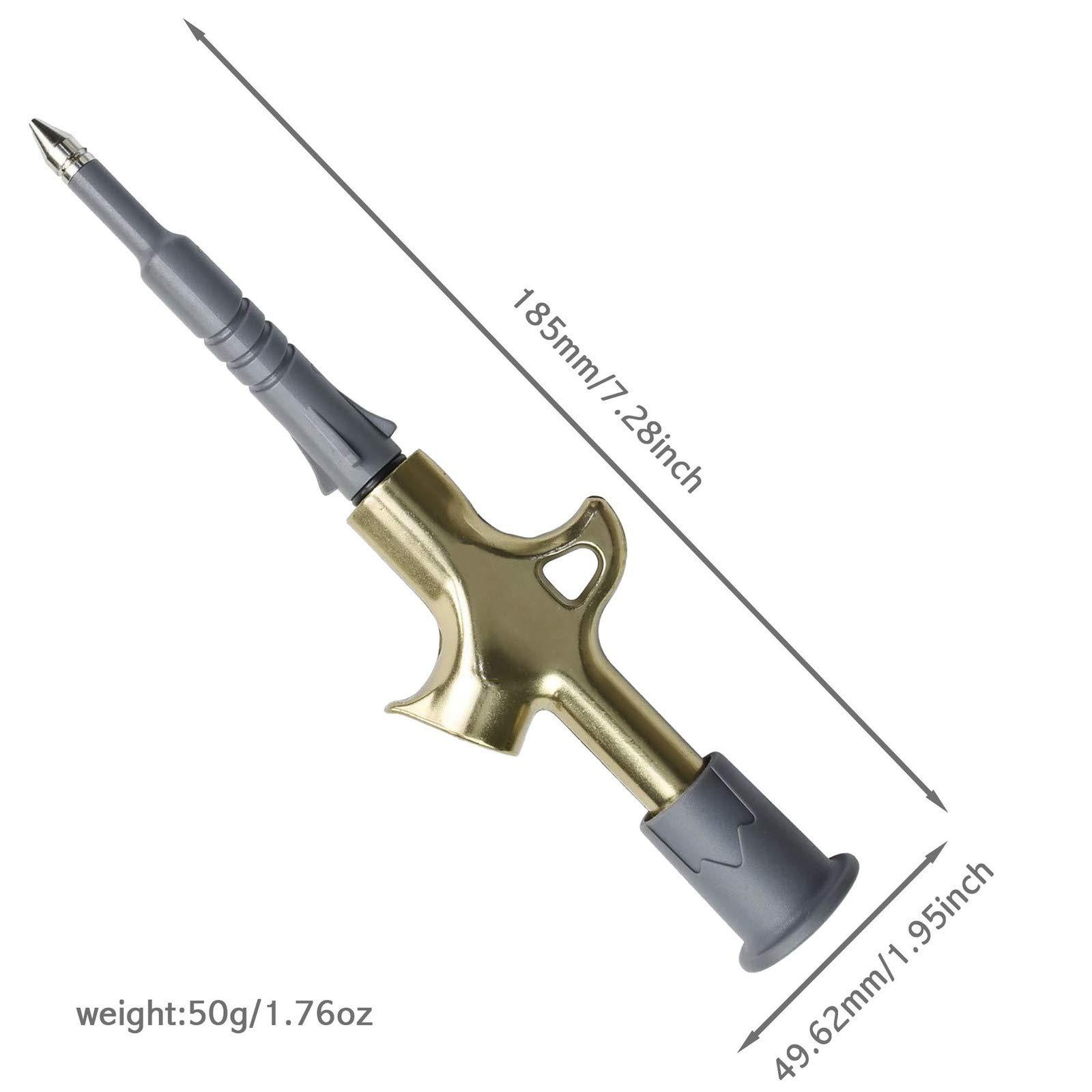 Mini Tool for Greasing CyclingDeal Bike Bicycle Grease Injector Gun