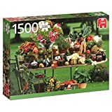 Jumbo- Fruit and Vegetables pcs Frutas y hortalizas, Puzzle de 1500 Piezas (618582)