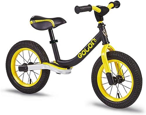 Xiaoping Equilibrar la Bicicleta, sin Pedales Equilibrio Bicicleta para Niños pequeños con Asiento y manubrios Ajustables, Ligero Caminar a pie de Bicicleta para Niños, Edades de 2 a 6 años