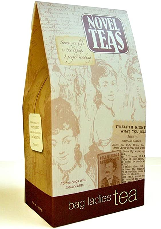 Novel Teas Contains 25 Teabags Individually Tagged With Literary Quotes From The World Over Made With The Finest English Breakfast Tea