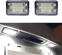 2 Piezas para M-ERCEDES B-ENZ GLK X204 LED Luces de matrícula Bombilla 12V 6000k Blanco Sin Errores LED Número de matrícula Lámpara