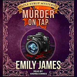 Murder on Tap audiobook cover art