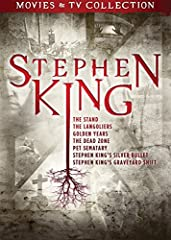 STEPHEN KING DVD COLLECTION - A killer collection featuring seven films and miniseries based on the work of horror master Stephen King. KING'S GREATEST HITS - This amazing collection features The Stand miniseries, The Langoliers miniseries, Golden Ye...