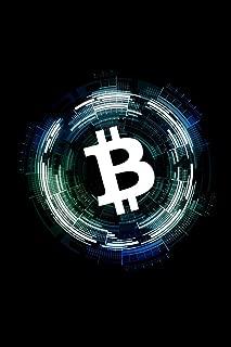 Bitcoin Notebook: Blue Bitcoin Crypto Notebook to Write in ~ Small 6