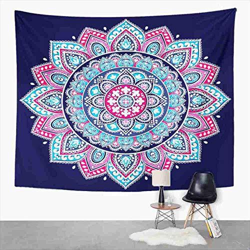 Tapiz indio Mandala tapiz para dormitorio decoración de la habitación pared colgante arte tapiz estera de Picnic Toalla de playa cubierta de cama 151x100CM