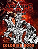 Foto Assassins Creed Coloring Book: Assassins Creed Fantastic Coloring Books For Adults, Tweens, (Unofficial Book)