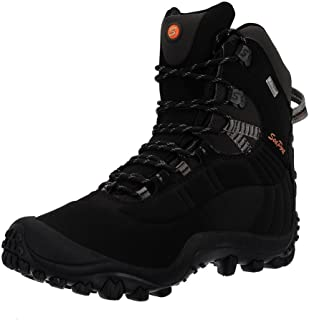 Manfen Thermator Men's Mid Hiking Boot Waterproof Hunting Outdoor Boot