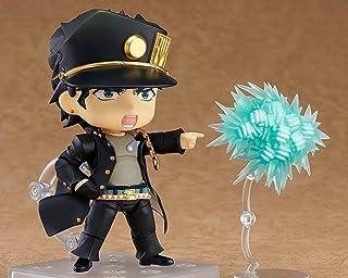 Kotee 10cm Anime Figur Jojos Bizarre äventyr Kujo Jotaro rörliga lederna Q Version Nendoroid Face Ändra Doll PVC Anime tec...