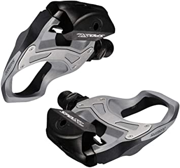 Shimano PD-R550 SPD-SL Road Bike Bicycle Pedals Grey SM-SH11 Cleats
