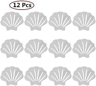 12 PCS Sticker Sea Shell Shape Safety Elegant Anti-slip Stickers for Bathroom