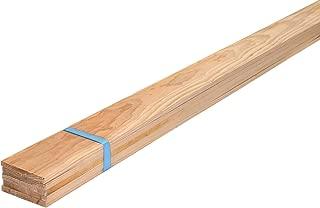 スターワン 木材 杉板 約200×1×9cm 091955 5個セット