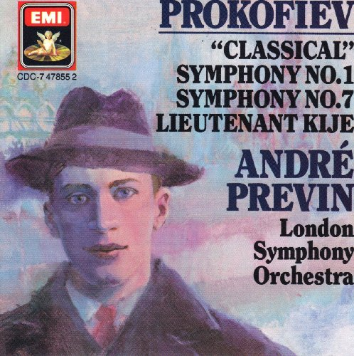 Prokofiev Classical Symphony No1 Symphony No. 7 Lieutenant Kije