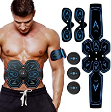 BEN BELLE ABS Stimulator Abs Muscle Toner Abdominal Toning Belt, Electric Ab Belt for Women and Men - Effective Muscle Trainer, Portable Fitness Trainer for Abdomen, Arm and Leg