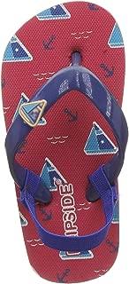 FLIPSIDE Unisex Kid's Surf Red Flip-Flops