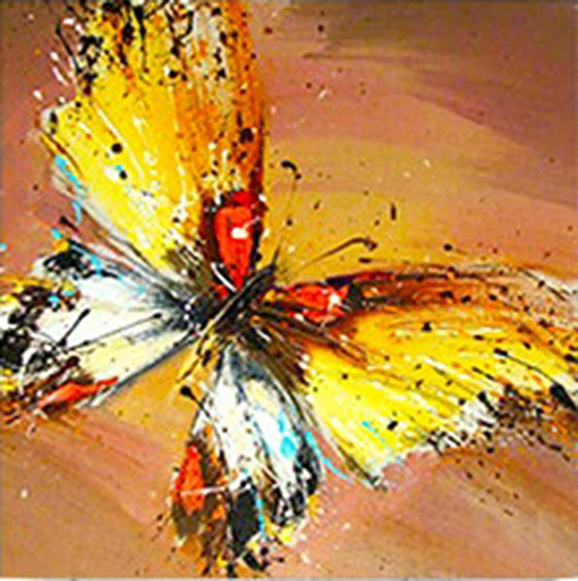 DIY 5D Diamond Painting Kits for Adults Butterfly Full Round Drill Crystal Rhinestone Embroidery Arts Craft for Home Wall Decor 11.8x11.8 inch