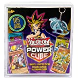 Yu-Gi-Oh! Cards Power Cube - 5 Rares | 5 Battle Decks | A Figure Hanger | Factory Sealed Packs | 75 Common Cards, (Model: B07H1FRKKX)