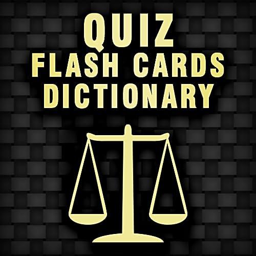 Criminal Justice Quiz Terminology