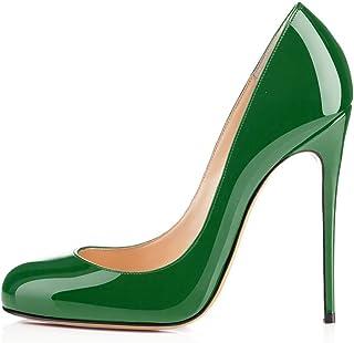 0333779b370074 Soireelady Escarpins Femme Sexy,Coupe fermées femme,Talon Haut Aiguille  Chaussures