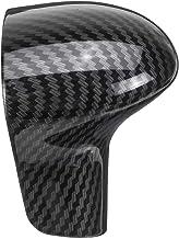 Best AUTO-P Suitable for Audi Shift knob Cover Shell Interior Modification (ABS Carbon Fiber Plaid) (B) Review