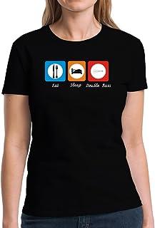 Eddany Eat Sleep Double Bass Women T-Shirt
