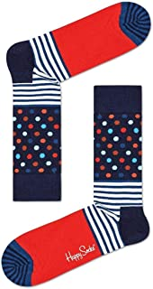Happy Socks Stripe and Dots Unisex - algodón