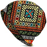 Mamihong Unisex Adult Rhomboid Colorful Background with Ethnic Motif Imágenes De Archivo, Vectores, Casual Beanie Hat Warm Knit Ski Beanies Skull Cap Black Fotos Libres De Derechos