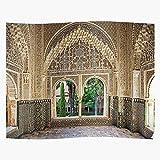 Mirador Palace Room Hall Nasrid Building Daraxa Interior El póster de decoración de interiores más impresionante y elegante disponible en tendencia ahora