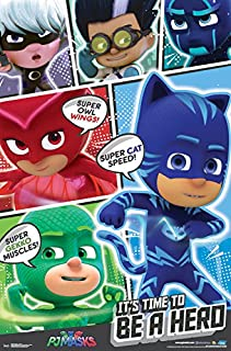 Trends International Pj Masks Powers Wall Poster, 22.375