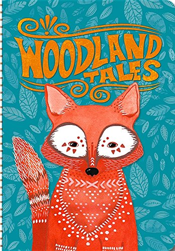 Orange Circle Studio 17-Month 2017 On-Time Weekly Planner, Woodland Tales