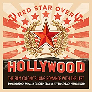 Red Star over Hollywood audiobook cover art