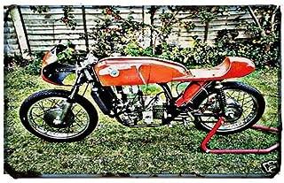 Red Rat Bultaco TSS - Señal de Moto (A4, Aluminio), diseño de ...
