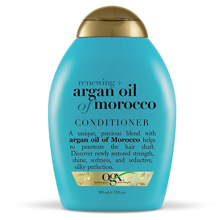 ラメ湖勃起Organix Conditioner Moroccan Argan Oil 385 ml (並行輸入品)