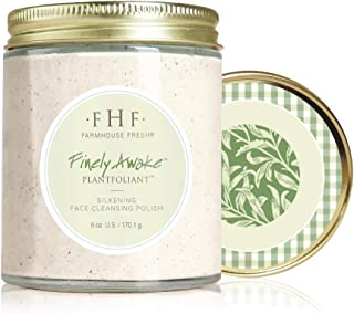 FarmHouse Fresh Finely Awake Plantfoliant Silkening Face Cleansing Polish, 6 oz