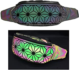 Fanny Pack Womens Men Holographic Fashion Festival Cute Waist Packs Running Travel Sports Bags