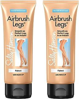 Sally Hansen Airbrush Legs, Leg Makeup Lotion, Fairest, 4 Ounce (Pack of 2)