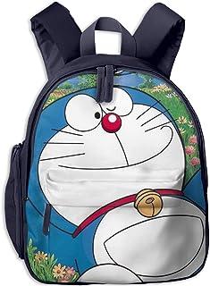 Icon-Doraemon Mochila escolar Cool Boy Girl Universal Bolsa de viaje de lona