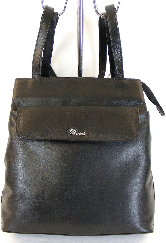 Pavini Pavini Pavini Damen Tasche Rucksack Classics echt Leder schwarz 9850 Cityrucksack B018GK5TAG bb185c