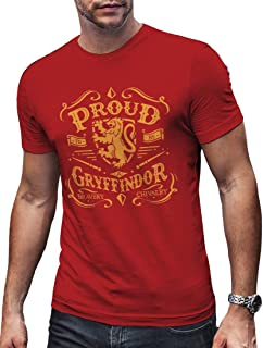 LeRage HP Gryffin Shirt Wizard Tee Gift for Magic Lovers Men's