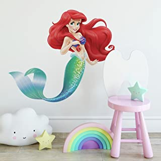Roommates The Little Mermaid Giant Wall Decal, Multi-Colour, RMK2360GM